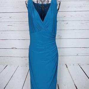 Lauren Ralph Lauren V-Neck Sleeveless Dress